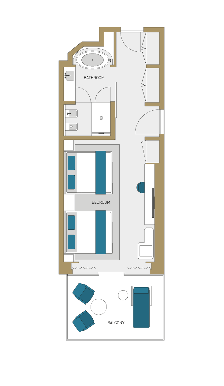 Features floorplan.
